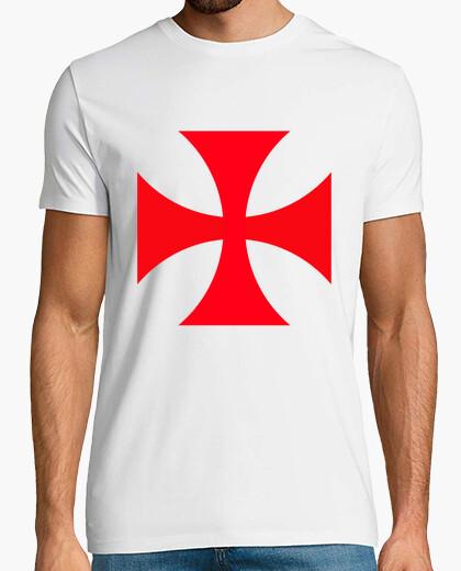 Cruz Templaria - Camiseta