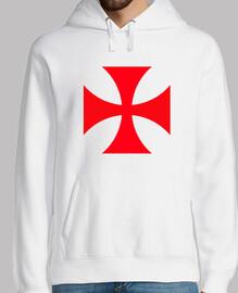 Cruz Templaria - Sudadera