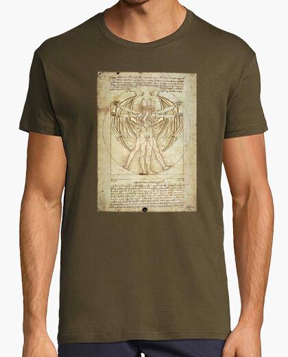 Tee-shirt Cthulhu vitruvio (garçons)