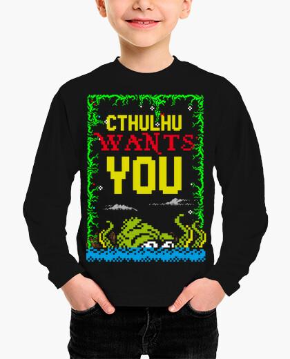 Ropa infantil Cthulhu wants you