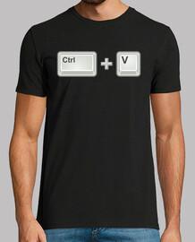 ctrl + v (man)