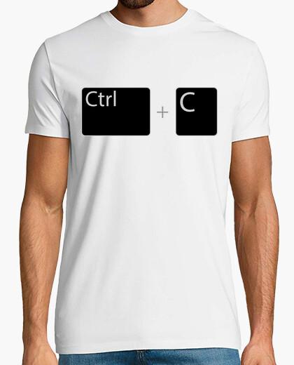 Camiseta Ctrl C / Control C / Copiar / Control m