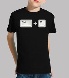 ctrl c (kopieren, kopieren)