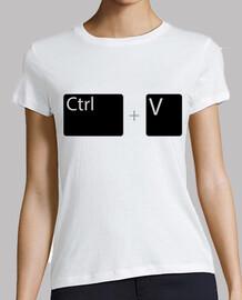 ctrl v / control v / coller / control p