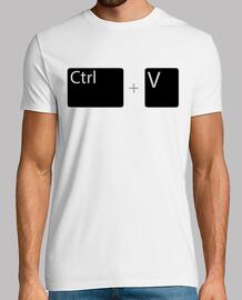 ctrl v / control v / paste / control mo