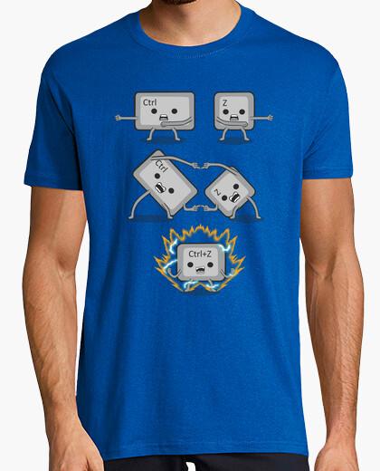 T-shirt Ctrl Z fusione