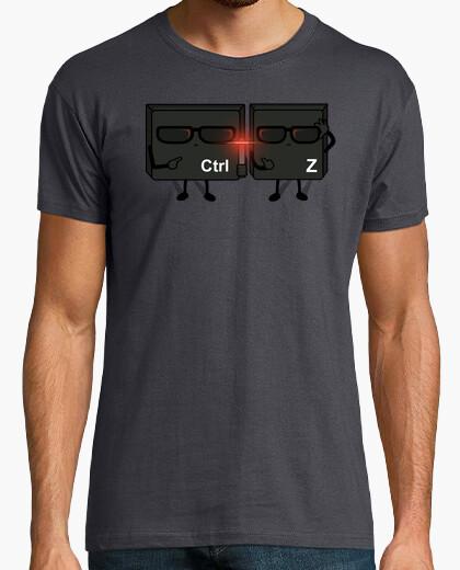 Camiseta Ctrl Z in Black!