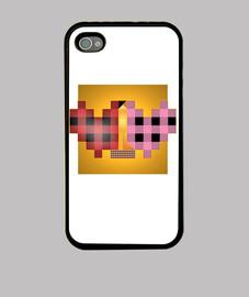 Cuadrado del Beso de Klimt iPhone