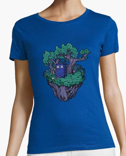 Camiseta cuadro de bosque
