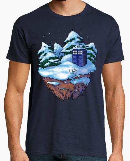 Camiseta cuadro de invierno