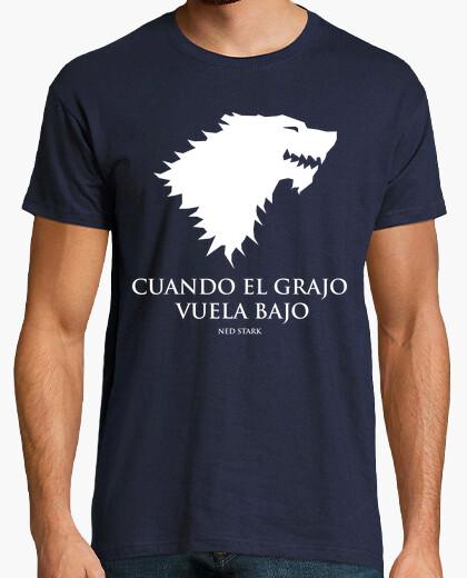Camiseta Cuando el grajo juego de tronos