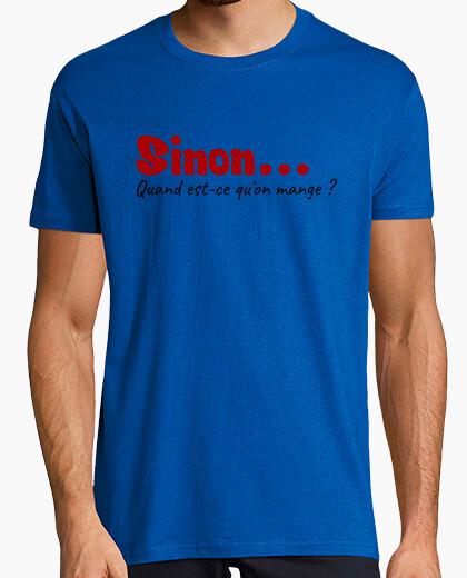 Camiseta cuando se quon comer?