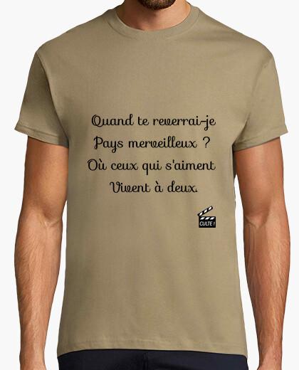 Camiseta cuando te volveré a ver país maravillos