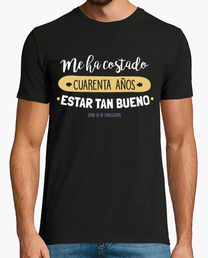 Camiseta Cuarenta Años Para Estar Tan Bueno, 1979