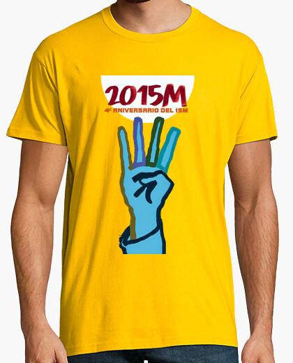 Camiseta Cuarto Aniversario - Felicidades 15 M