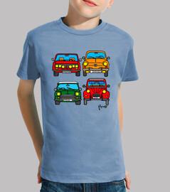 Cuatro coches