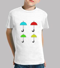 Cuatro paraguas 1