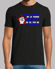 Cuba red star fist