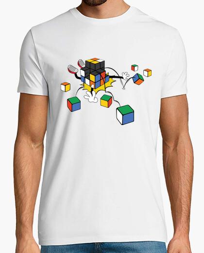 Tee-shirt Cube magique qui tombe