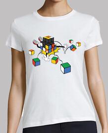 Cube magique qui tombe