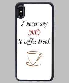 cubierta de coffee break iphone xs max