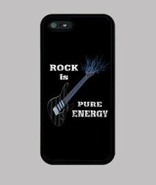 cubierta de guitarra rock i-phone 5