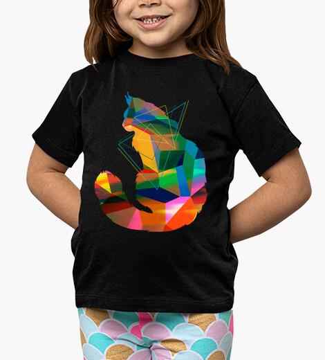 Cubism Cat children's clothes