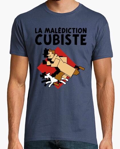 T-shirt cubista maledizione