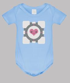 Cubo de compañía bebé azúl (Portal)
