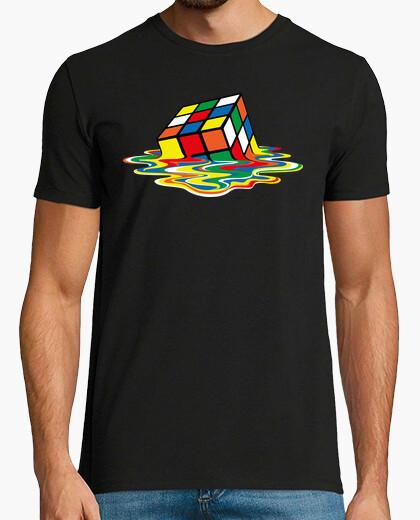 Camiseta Cubo de Rubik Derretido