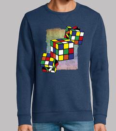 cubo di rubik - texture di sfondo