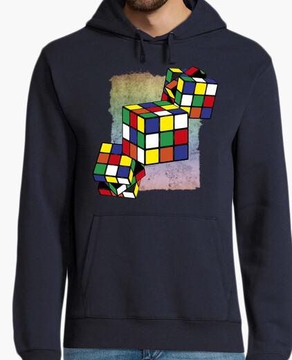 Jersey Cubo Rubik - textura fondo