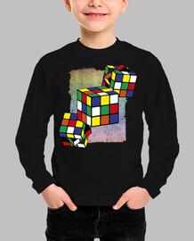 Cubo Rubik - textura fondo