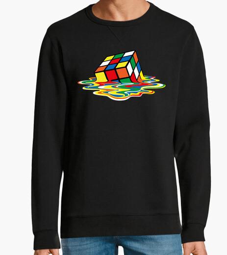 Sudadera Cubo Rubik derretido