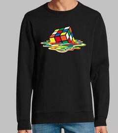 Cubo Rubik derretido