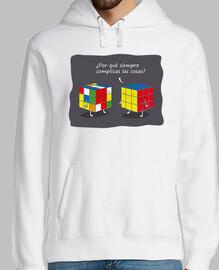 Cubos de Rubik Sudadera