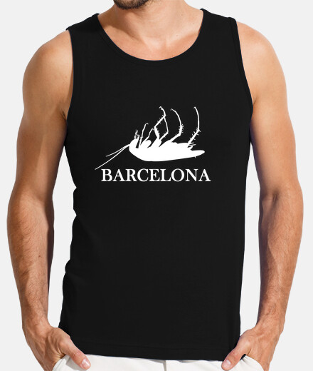 Cucaracha Barcelona blanca