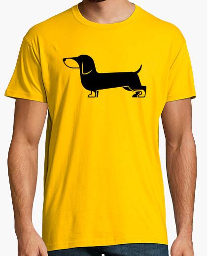 T-shirt cucchiaino di bassotto