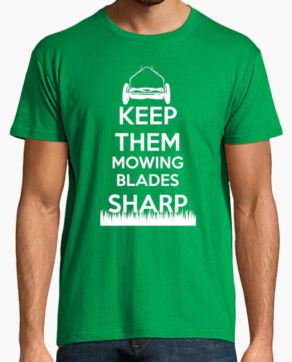 Camiseta cuchillas de siega