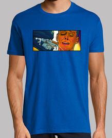 cucitrice pop alieno t-shirt