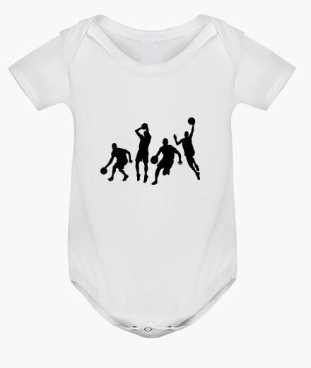 Ropa infantil cuerpo de baloncesto bebé