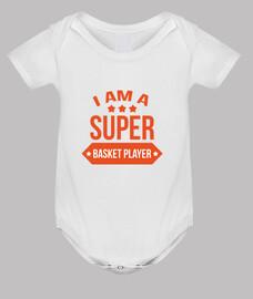 cuerpo de baloncesto bebé