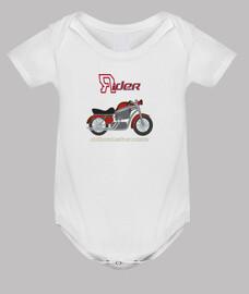 cuerpo de motociclista