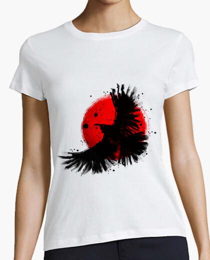 Camiseta cuervo oscuro
