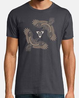 Cuervos Vikingos Sepia
