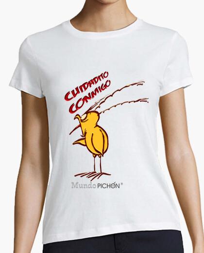 Camiseta CUIDADITO CONMIGO