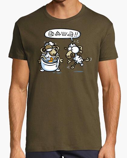 ¡Cuidado! - Camisetas Fiestas humor geek...