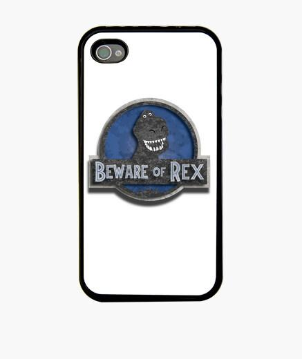 Funda iPhone Cuidado con Rex