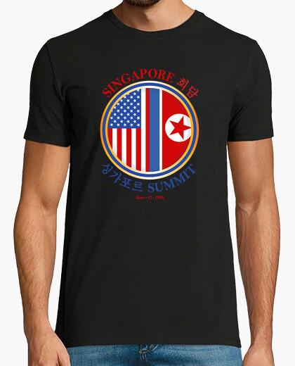 Camiseta cumbre de Singapur -june 12 2018-trump