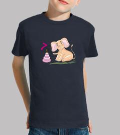 cumpleaños 7 años elefante rosa